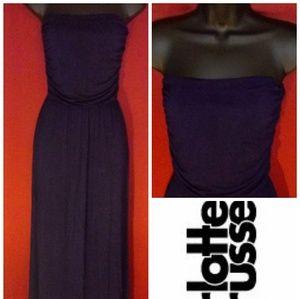 Charlotte Russe navy blue dress